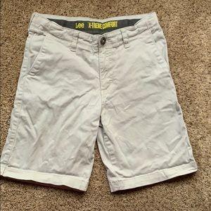 Lee x-treme comfort khaki shorts